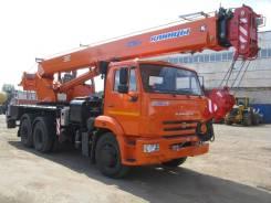 Клинцы КС-55713-1К. КС 55713-1К-1 автокран 25т. (Камаз-65115) ЕВРО-4, 11 600 куб. см., 25 000 кг., 28 м.