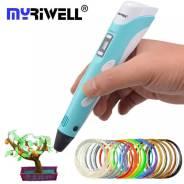 Ручка 3d RP-100B синяя/бирюзовая MyRiwell