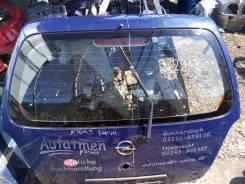 Крышка багажника. Opel Agila