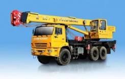 Галичанин КС-55713-5. Автокран КС-55713-5 Галичанин на шасси Камаз-43118, 10 800 куб. см., 25 000 кг., 22 м.