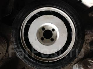 Пара литых дисков 6,5JJR15 с резиной 185/55R15. 6.5x15 4x114.30 ET25