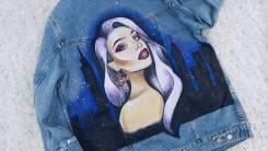 Dress ART. Ручная Роспись одежды