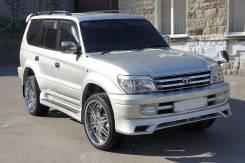 Обвес кузова аэродинамический. Toyota Land Cruiser Prado, VZJ95, LJ95, KZJ95, RZJ90W, VZJ95W, KZJ95W, RZJ95W, RZJ90, KDJ95, KDJ95W, KDJ90W, VZJ90, RZJ...