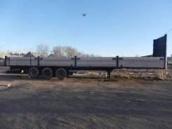 Sommer. Полуприцеп борт SP-240PR с тентом, 30 000 кг.