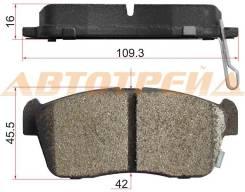 Колодки тормозные FR TOYOTA PASSO 04- SAT ST-04465-B1010