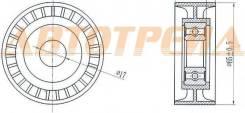 Ролик натяжителя приводного ремня MMC ASX/LANCER 1,8-2,0/DELICA/OUTLANDER/CITROEN C4/C-CROSSER 2,0-2