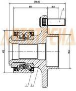 Ступичный узел FR FORD C-MAX/FOCUS II 03- ST-1471854