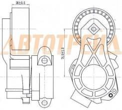 Натяжитель приводного ремня PEUGEOT BOXER/FIAT DUCATO/CITROEN JUMPER/FORD TOURNEO/TRANSIT 2,2 06-
