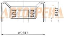 Ролик натяжителя приводного ремня TOYOTA CAMRY/RAV4 2AZ 06-