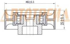 Обводной ролик приводного ремня CITROEN JUMPER/FIAT DUCATO/FORD TRANSIT/PEUGEOT BOXER