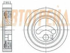 Натяжной ролик приводного ремня SUZUKI GRAND VITARA II 2,7 05-