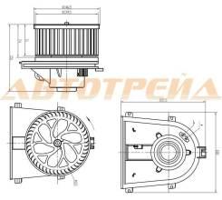 Мотор отопителя салона SKODA OCTAVIA 97-13/VW GOLF 97-/JETTA 05-10/SEAT IBIZA 99-02/LEON 99-06