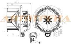 Мотор отопителя салона LADA GRANTA 10-/KALINA 13-/PRIORA 07-/DATSUN on-DO 14-/mi-DO 15-