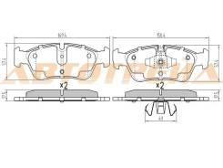 Колодки тормозные FR BMW 3 E90, правый передний