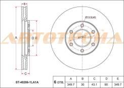 Диск тормозной передний INFINITI QX56 10-
