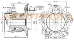 Ступичный узел RR NISSAN QASHQAI 06-/X-TRAIL 07- 2WD