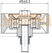 Обводной ролик приводного ремня FIAT DUCATO/IVECO DAILY 2,2 02-