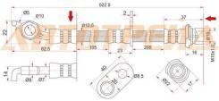 Шланг тормозной задний (Таиланд) TOYOTA CAMRY/GRACIA/MARK2 QUALIS/WINDOM/LEXUS ES300 96-01 RH ST-90947-02877