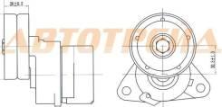 Натяжитель приводного ремня CHEVROLET CAPTIVA/DAEWOO WINSTORM/OPEL ANTARA/NISSAN JUKE 06- SAT ST96435138