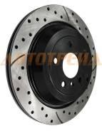 Комплект дисков тормозных зад перфорированные MERCEDES W164/X164/W251/V251