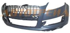 Бампер AUDI Q7 09-15 под омыватели, передний