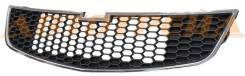 Решетка CHEVROLET CRUZE 09-13 нижняя черная с хромом