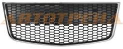 Решетка в бампер CHEVROLET AVEO 08- 5D HBK с молдингом