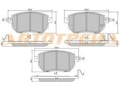 Колодки тормозные FR INFINITI FX45/35 S50 -2006/ NISSAN MURANO Z50