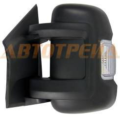 Зеркало FIAT DUCATO/PEUGEOT BOXER/CITROEN JUMPER 06- LH рег-ка, поворот, обогрев, 8конт