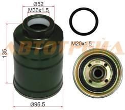 Фильтр топливный MITSUBISHI PAJERO SPORT 96-08/CHALLENGER K9# 96-01/L200 96-06