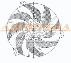 Диффузор радиатора в сборе PEUGEOT 206 98-05