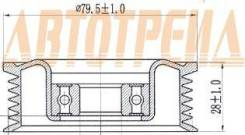 Обводной ролик приводного ремня MAZDA 2/3 2007- (ручейковый)