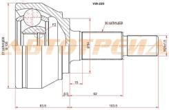 Шрус наружний VW TOUAREG 03-10/AUDI Q7 06-15