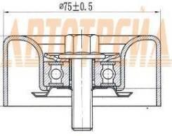 Обводной ролик приводного ремня NISSAN TEANA 08-/MURANO 10-