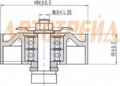 Натяжной ролик приводного ремня NISSAN NAVARA(D40)/PATHFINDER(R51) 2,5D 05-