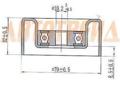 Ролик натяжителя приводного ремня TOYOTA 1GR/2GR/3GR/4GR/5GR 02-