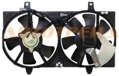 Диффузор радиатора двойной в сборе NISSAN BLUEBIRD SYLPHY/AD/WINGROAD/SUNNY/ALMERA 98-05/ALMERA 07-