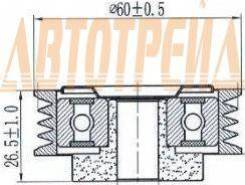 Натяжной ролик приводного ремня SUZUKI SX4/SWIFT III 1,3-1,6 05-/IGNIS 1,3-1,5 00-05 /JIMNY 1,3 98-