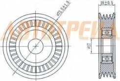 Натяжной ролик приводного ремня SUBARU FORESTER(SF/G)2,0-2,5/IMPREZA(GC/D)1,6-2,5/LEGACY II-IV 2,0-2