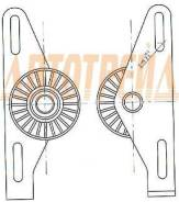 Натяжитель приводного ремня RENAULT CLIO/LAGUNA/LOGAN/MEGANE/SANDERO/SCENIC/SYMBOL 1,4/1,6(8кл.) 97-