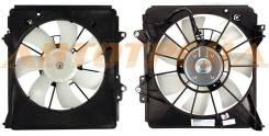Диффузор радиатора кондиционера в сборе HONDA FIT/JAZZ 07-
