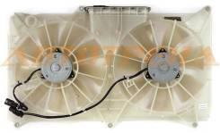 Диффузор радиатора двойной в сборе TOYOTA LEXUS GS300/ARISTO/MAJESTA 3,0 97-05