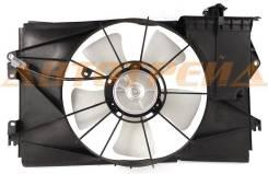 Диффузор радиатора в сборе TOYOTA COROLLA FIELDER/VOLTZ/RUNX/ALLEX/SPACIO/WILL VS/Vi (с мотором)