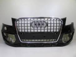 Бампер передний с решеткой под омыв. фар и парктр. audi q5 s-line 13. Audi Q5, 8RB Двигатели: CDNC, CNBC, CALB, CCWA, CAHA, CGLB, CDNB. Под заказ