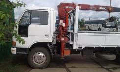 Nissan Atlas. Кранборт-Эвакуатор , 4 200 куб. см., 3 000 кг., 9 м.