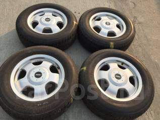 """205/70 R15 Bridgestone Nextry литые диски 6х139.7 (K11-1512). 6.5x15"""" 6x139.70 ET25"""