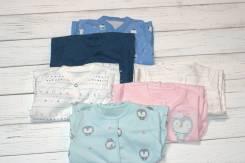 Комбинезоны джинсовые. Рост: 50-56, 56-62, 62-68 см