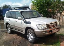 Шноркель. Toyota Land Cruiser
