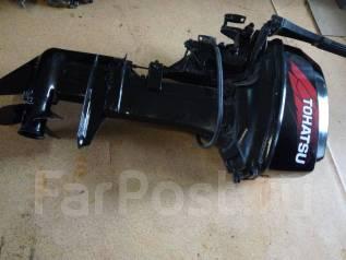 Tohatsu. 9,90л.с., 2-тактный, бензиновый, нога S (381 мм), Год: 2005 год