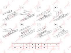 Щетка стеклоочистителя. Renault Logan Renault Duster Nissan 350Z Двигатели: D4D, K7M, D4F, K9K, K7J, K4M, F4R, VQ35HR, VQ35DE